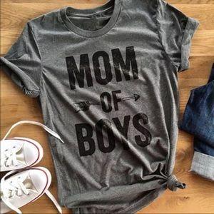 Mom of Boys T Shirt